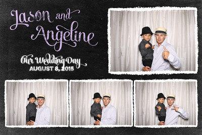 Jason and Angeline Wedding August 8, 2015