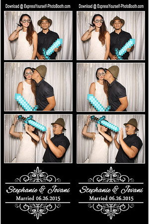 Stephanie and Jovani June 26, 2015
