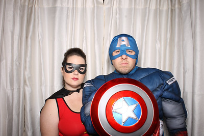 Villains and Superheros Halloween Party 2015